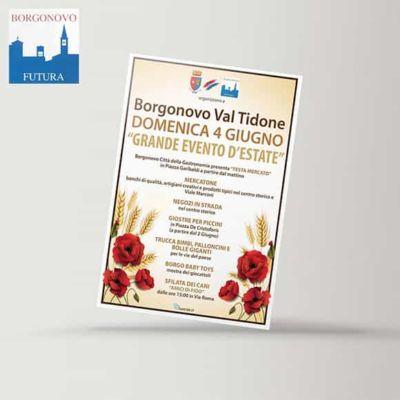 Locandine - Unione Commercianti Borgonovo Futura